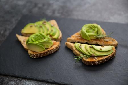 Avocado breakfast on toast