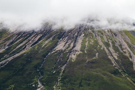 Glencoe pass on a misty day