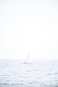 Sail boar overexposed