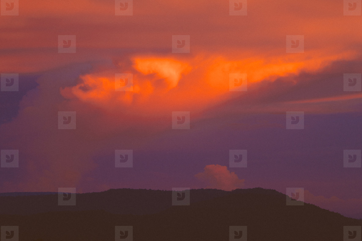 Colorful sunset  01