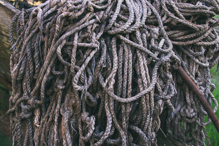 Old ropes texture