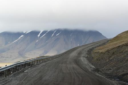 Svalbard road