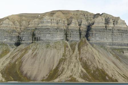 Svalbard cliffs