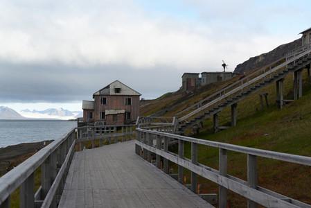 Barentsburg house