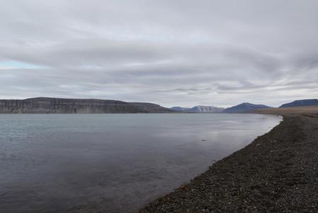 Svalbard beach