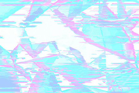 Glitched abstract  background made of colorful pixel mosaic