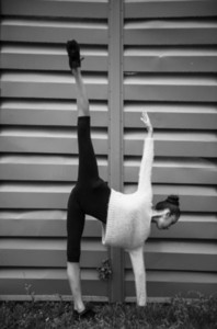 Ballerina out of doors 09