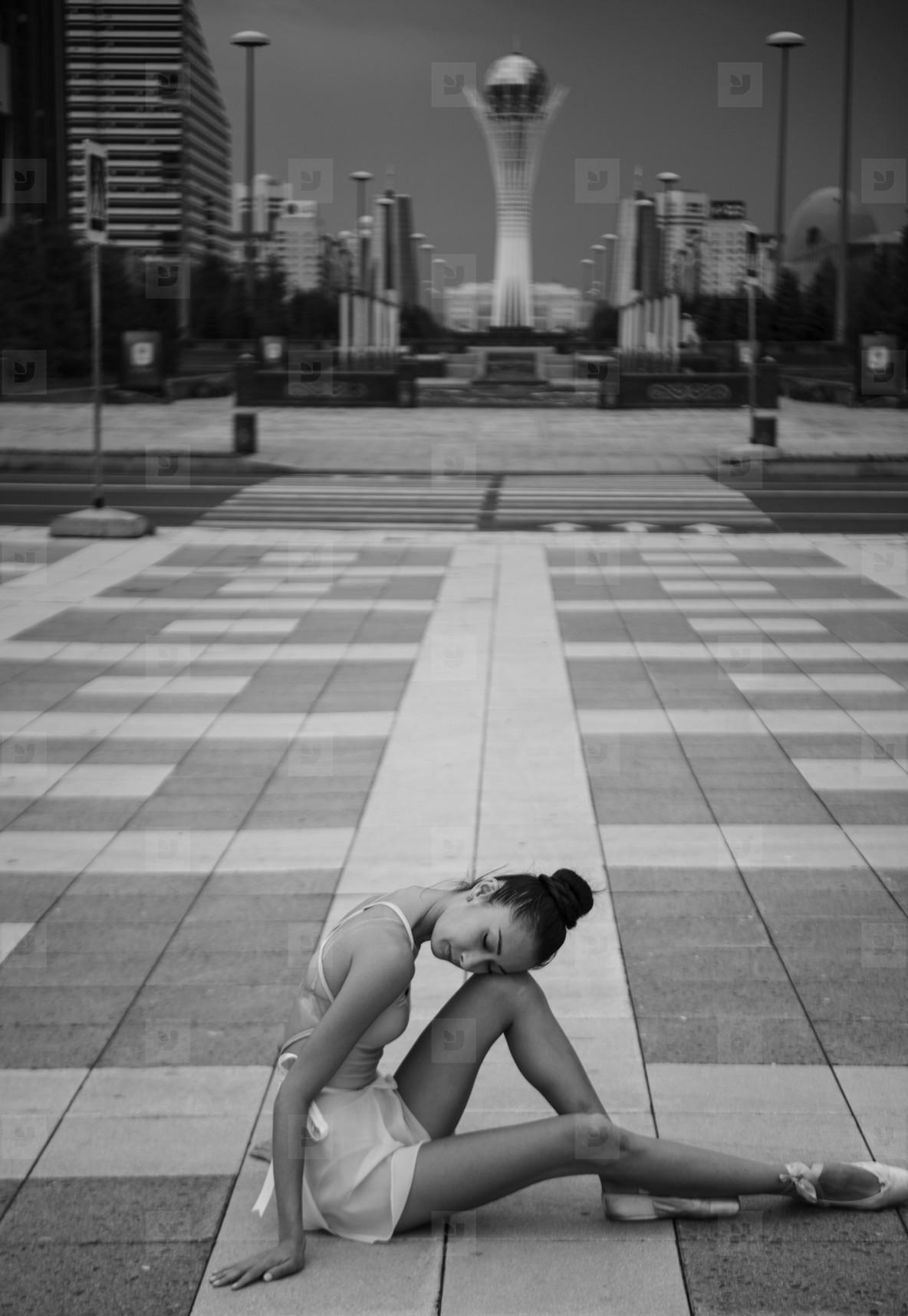 Ballerina out of doors  12