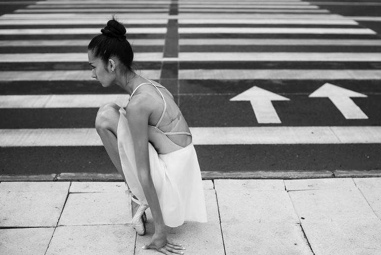 Ballerina out of doors  14