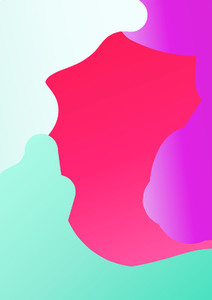 Colorful minimal background   Illustration