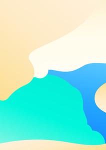 Colorful minimal background   Illustration