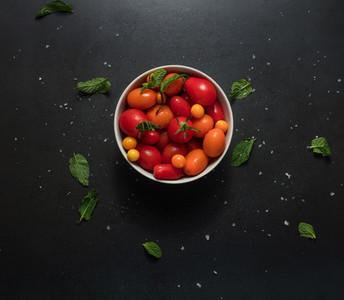 Bowl full of tomatoes