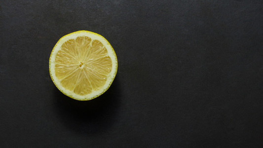 Half cut lemon