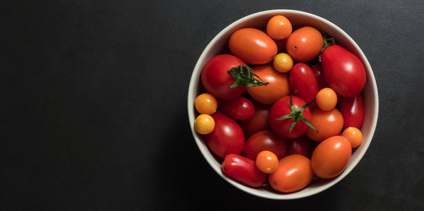 Bowl full of tomatoes