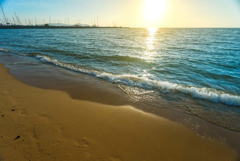 Sea Sand Sun and Beach on summer at Pattaya Thailand
