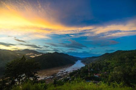 Salween river on Ban Mae Sam Laep  Sop Moei District  Mae Hong S