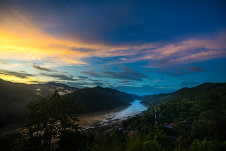 Salween river on Ban Mae Sam Laep  Sop Moei District  Mae Hong S