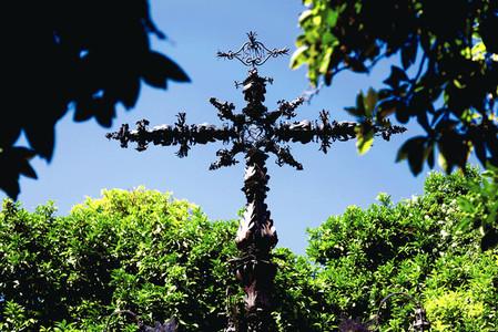 Cruz  plazas  Sevilla  Spain