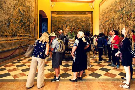 Interior Alcazar de Sevilla