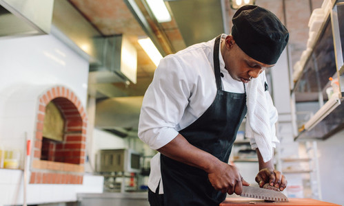 Food preparation in commercial kitchen