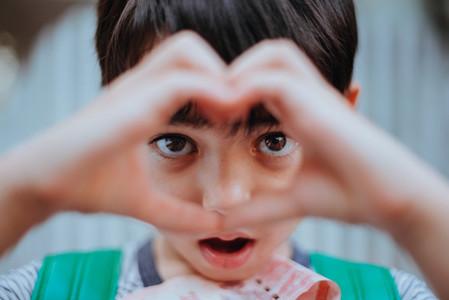 Heart Shaped Eyes