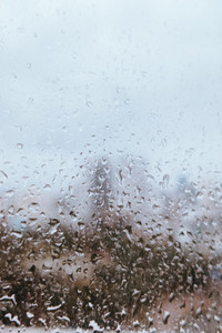 Rainy Bangkok View