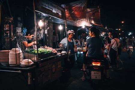 Drive thru street food