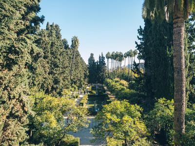 Gardens of the Royal Alcazar of Seville