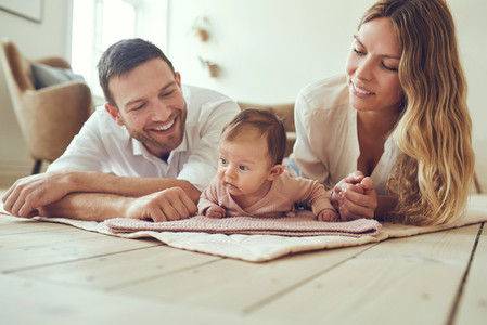 Babies keep parents smiling and laughing