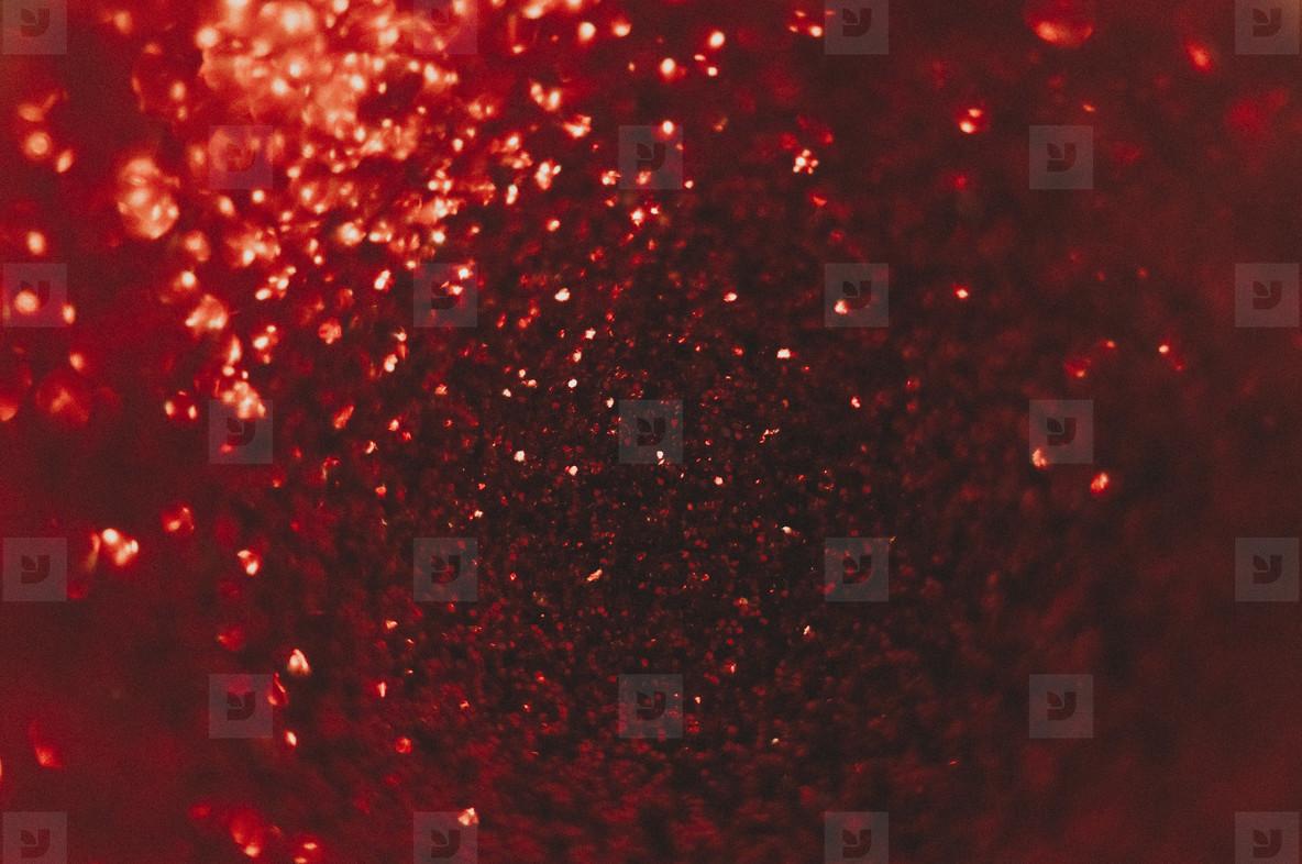 Red Glitter  4