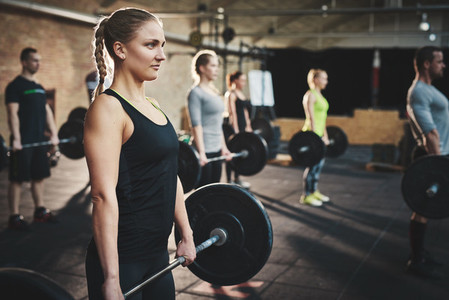 Strengthening through weightlifting