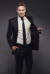 Nothing beats a black suit