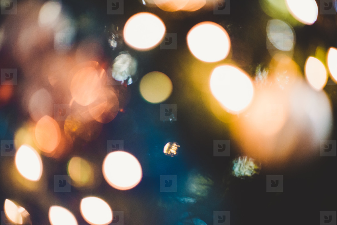 Hot and cold defocused lights