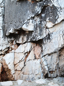 Close up of rocks