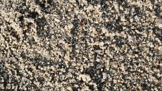 Close up of sand