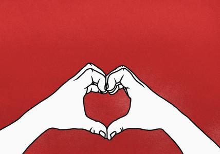 Heart Shaped Hands 01
