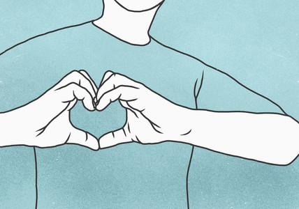 Heart Shaped Hands 13