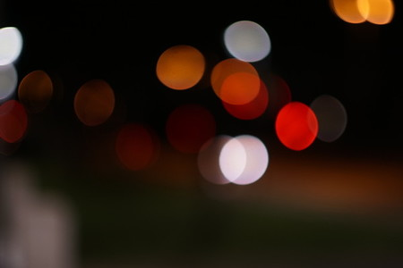 night bokeh II