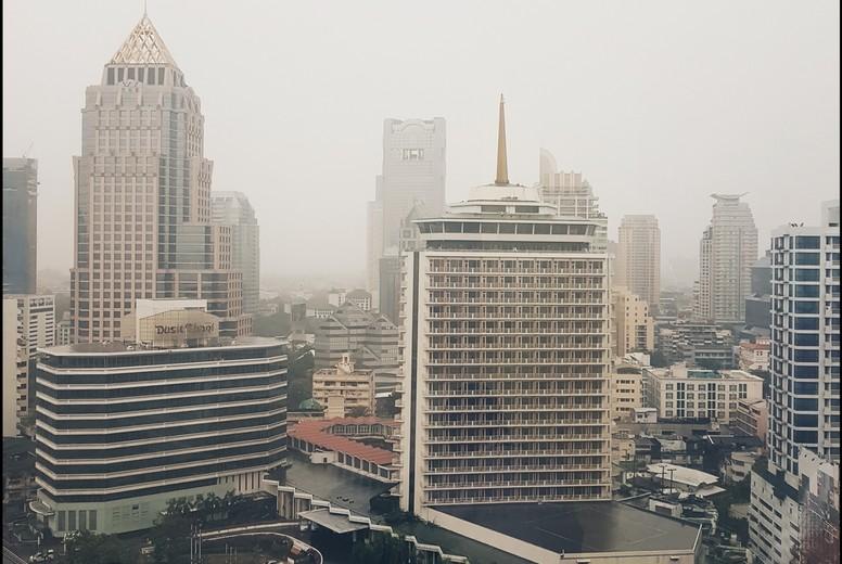 View of building in Bangkok