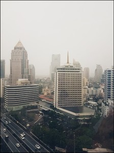 View of building in Bangkok
