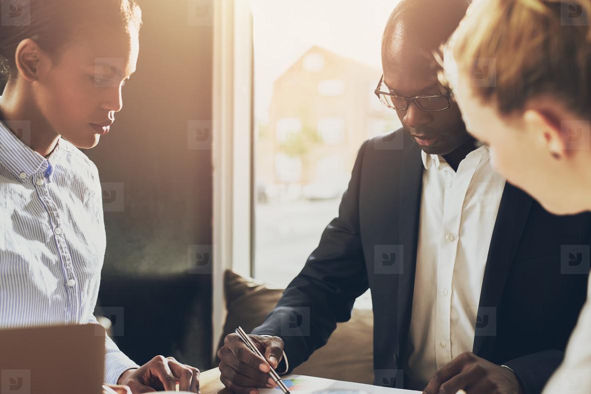 Black executive explain business plan