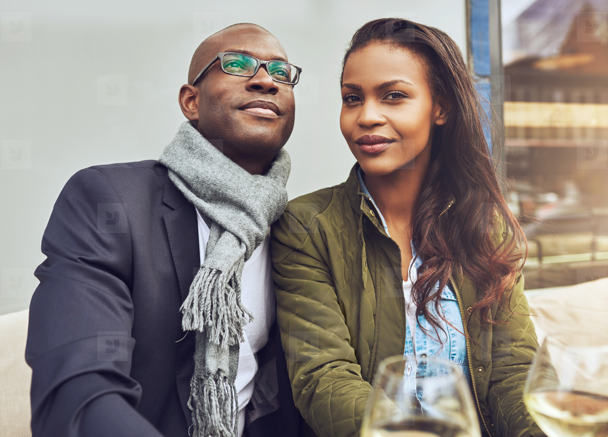 Black couple enjoying life