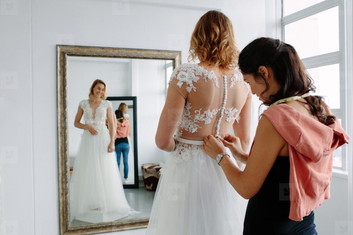 Photos - Wedding dress fitting in... 139610 - YouWorkForThem
