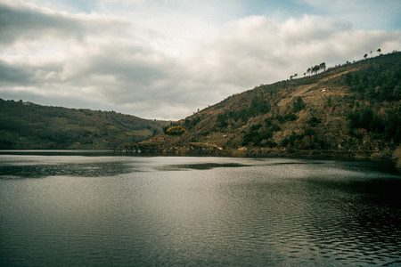 view from the belesar reservoir