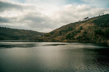 view from the belesar reservoir