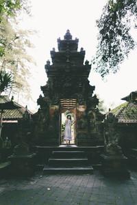 Hindu temple in Bali  Indonesia