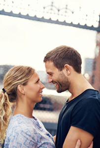 White Loving Couple