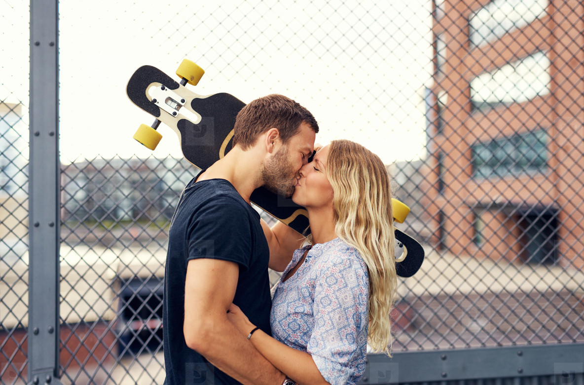 Photos Lovely Couple Kissing Youworkforthem