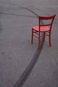 red chair track