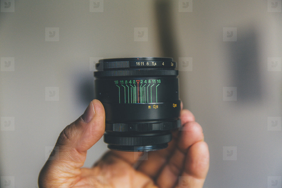 analog vintage lens helios